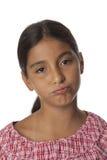 Молодой девочка-подросток имеет достаточно из его Стоковая Фотография RF
