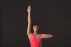 Молодой женский джаз танцев Стоковое фото RF