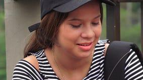 Молодой женский испанский студент Стоковые Фотографии RF