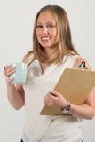 Молодой женский профессионал стоковые изображения