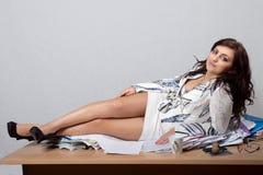 Молодой женский работник офиса Стоковые Фото