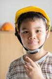 Молодой инженер мальчика Стоковые Изображения RF