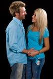 Молодой кавказский обнимать пар Стоковые Фотографии RF