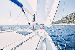 Молодой капитан парусника Стоковое Фото
