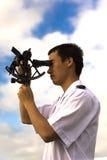 Молодой китайский навигатор Стоковые Изображения RF