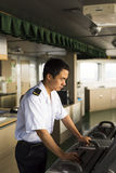 Молодой китайский навигатор Стоковая Фотография RF