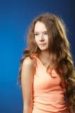 Молодой красивейший представлять девушки Стоковое Фото