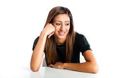 Молодой красивый счастливый азиатский индийский подросток Стоковые Изображения RF