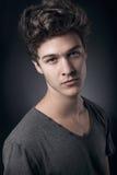 Молодой красивый человек Стоковая Фотография