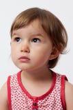 Молодой малыш думая о ее будущем Стоковое Изображение