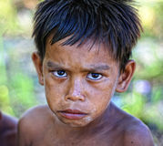 Молодой мальчик Стоковое Изображение RF