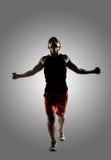 Молодой мужской спортсмен стоковое изображение rf