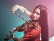 Молодой музыкант стоковые фотографии rf