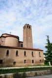 Молодой лосось Chiese S Lorenzo - старое здание в Mestre Стоковое Изображение RF