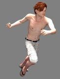 Молодой парень в Солнце стоковые изображения
