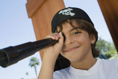Молодой пират Стоковые Фотографии RF