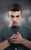 Молодой рыцарь стоковая фотография rf