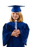Молодой студент-выпускник Стоковые Изображения