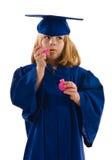 Молодой студент-выпускник Стоковое Изображение RF