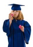 Молодой студент-выпускник Стоковые Фотографии RF