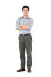 Молодой счастливый человек Стоковая Фотография RF
