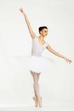 Молодой танцор балерины Стоковое фото RF