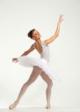 Молодой танцор балерины Стоковые Изображения RF