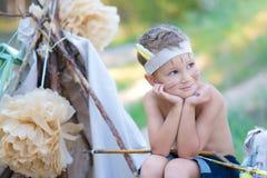 Молодой лучник Стоковые Фотографии RF