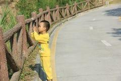 Молодой фотограф Стоковые Изображения RF