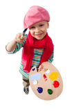 Молодой художник Стоковое фото RF