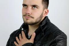 Молодой человек в влюбленности Стоковые Фотографии RF