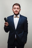 Молодой человек в официально одежде Стоковое Фото