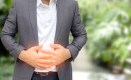 Молодой человек имея stomachache Стоковое Изображение RF