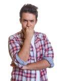 Молодой человек под давлением Стоковые Фотографии RF