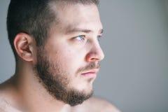 Молодой человек с проблемой Стоковое Изображение RF