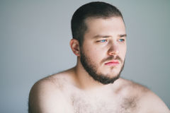 Молодой человек с проблемой Стоковые Фото