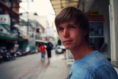 Молодой человек стоковое фото rf