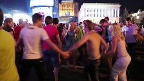 Молодость танцев сток-видео