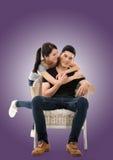 Молодые азиатские пары Стоковые Изображения