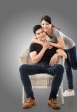 Молодые азиатские пары Стоковое Изображение