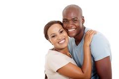 Молодые африканские пары стоковая фотография