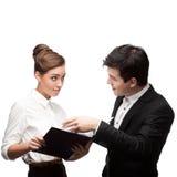Молодые бизнесмены имея обсуждение Стоковое Изображение