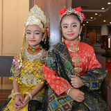 Молодые девушки malay Стоковое Фото