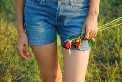 Молодые женщины в влюбленности Стоковые Фото