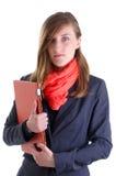 Молодые женщины в деле стоковая фотография