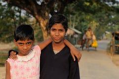 Молодые индийские девушки Стоковое Изображение
