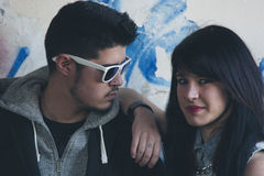Молодые коромысла пар Стоковое Изображение RF
