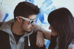 Молодые коромысла пар Стоковые Изображения RF