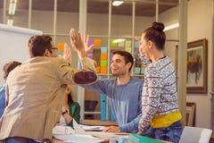 Молодые коллеги на встреча на офисе Стоковое Изображение RF