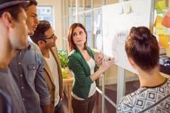 Молодые коллеги на встреча на офисе Стоковое фото RF